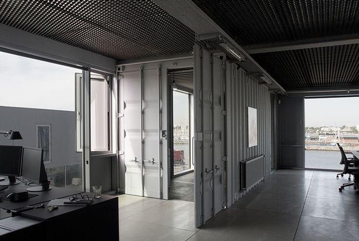 Офисное помещение из б/у контейнеров: дань моде или практичное решение?