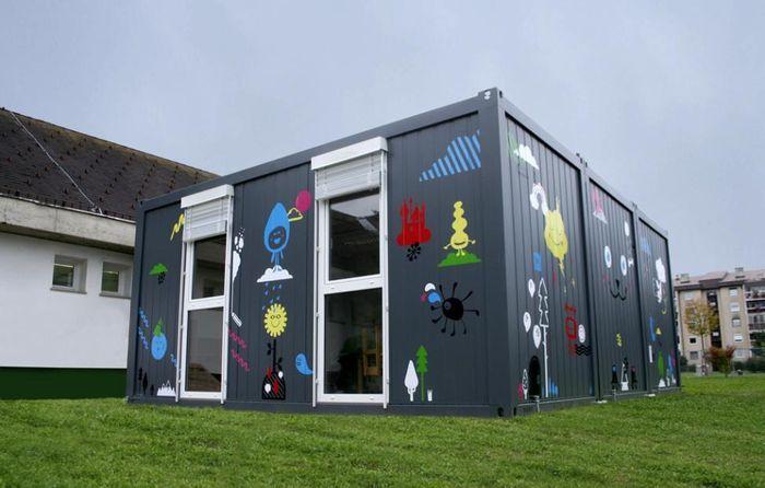 Новый проект Close the Gap – школа в контейнере
