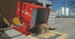 Использование контейнера в качестве зернохранилища
