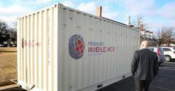Мобильные медпункты на базе контейнеров будут переданы в села и небольшие населенные пункты