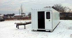 Контейнерное строительство: зимой — тепло, летом — прохладно