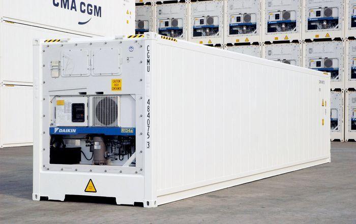 Характеристики рефрижераторный контейнер