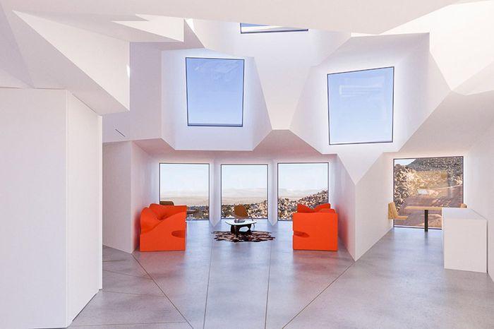 Дом посреди Калифорнийской пустыни