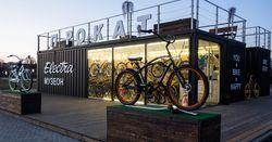 Идеи контейнерного бизнеса: мобильные станции проката велосипедов, роликов и гироскутеров