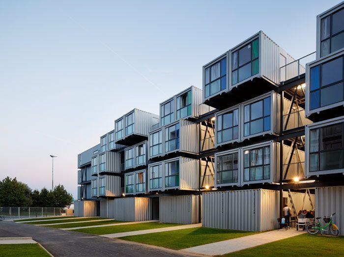 Мегаполисы выбирают контейнерное жилье