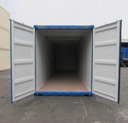 Контейнер 30 футов высокий HCHOT новый (height cube hard open top) двери открыты