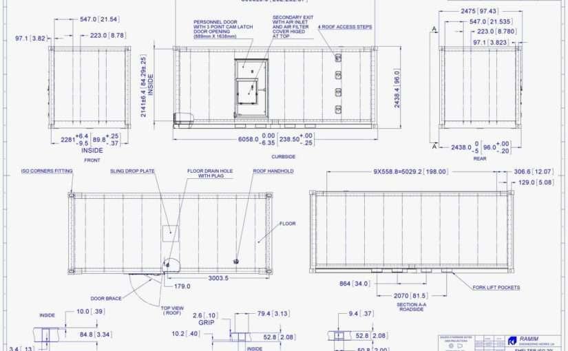 Конструкция морского контейнера