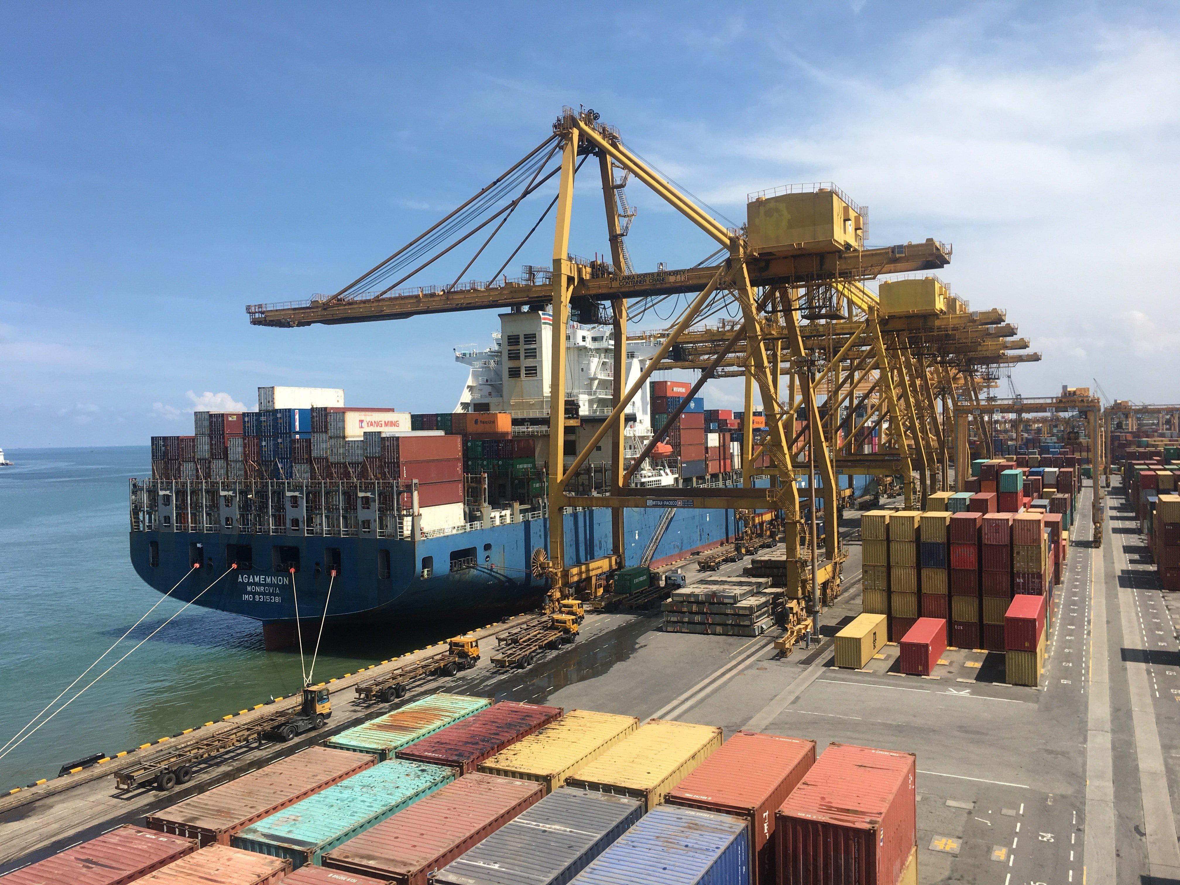 перевозка грузов морским контейнером