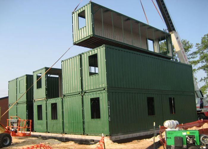 Идея для бизнеса: строительство домов «под ключ» из морских контейнеров