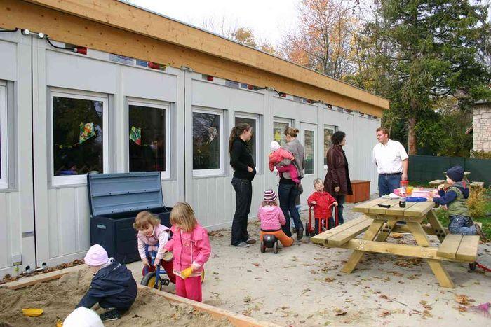 Модульные детские сады из контейнеров