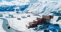 Грузия на волне туристического подъема: контейнерный мини-отель «Quadrum» на высоте 2200 метров над уровнем моря