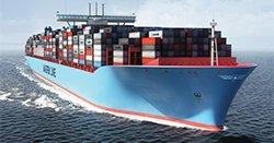 Объем международных контейнерных перевозок вырос