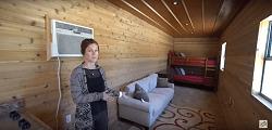 Хостел, бытовка или охотничий домик из контейнера 40 футов