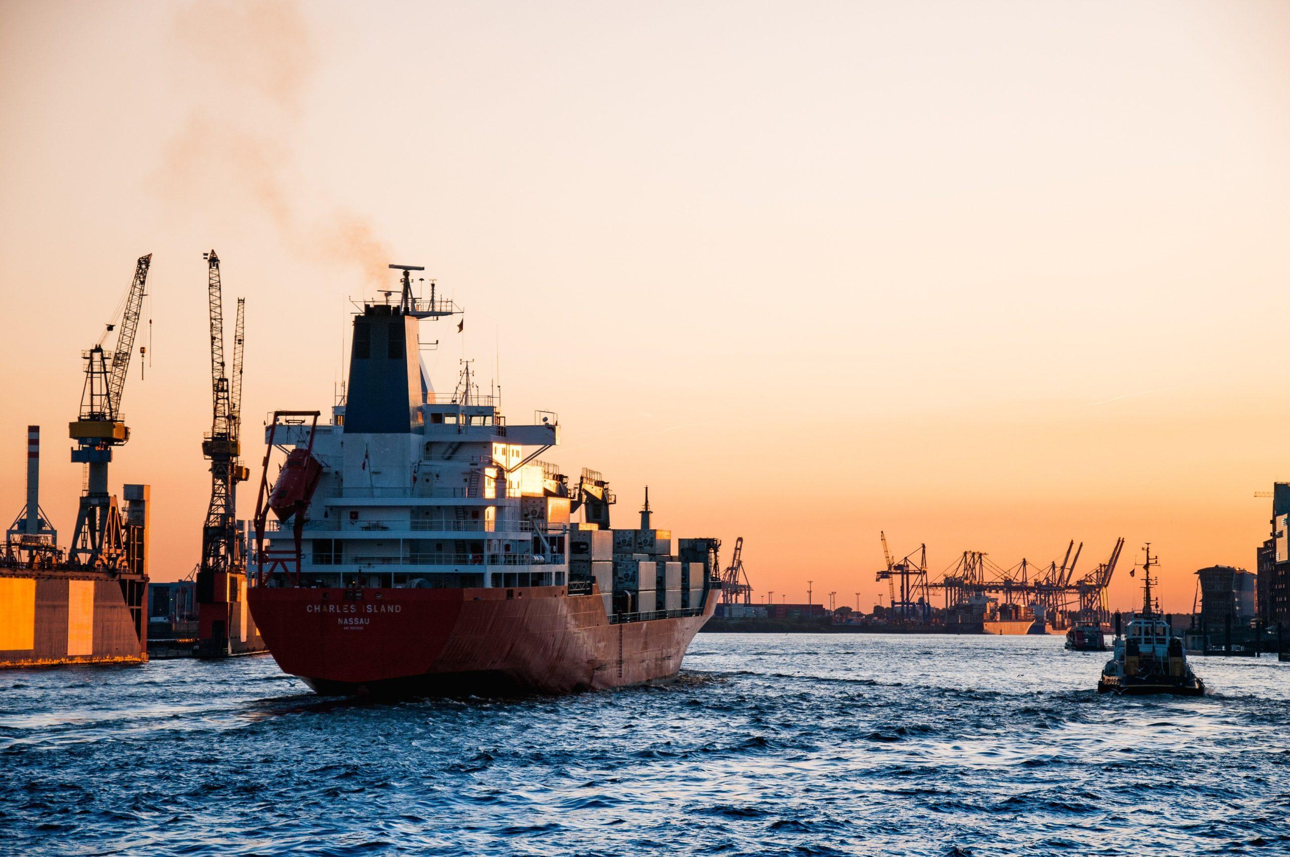 морская доставка контейнеров