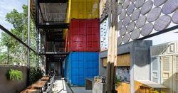 Хостелы снижают издержки за счет б/у контейнеров