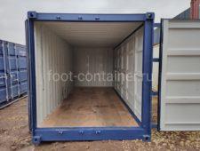 Контейнер 20′ с дополнительными боковыми дверями (SD) б/у